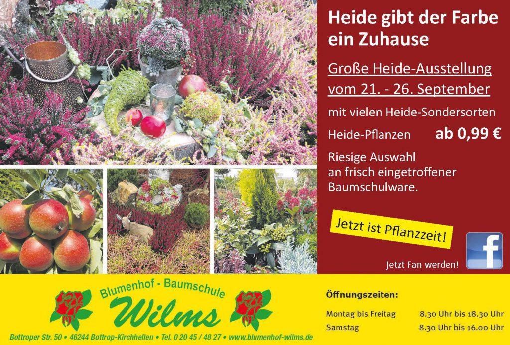 Große Heide- Ausstellung vom 21. – 26. September